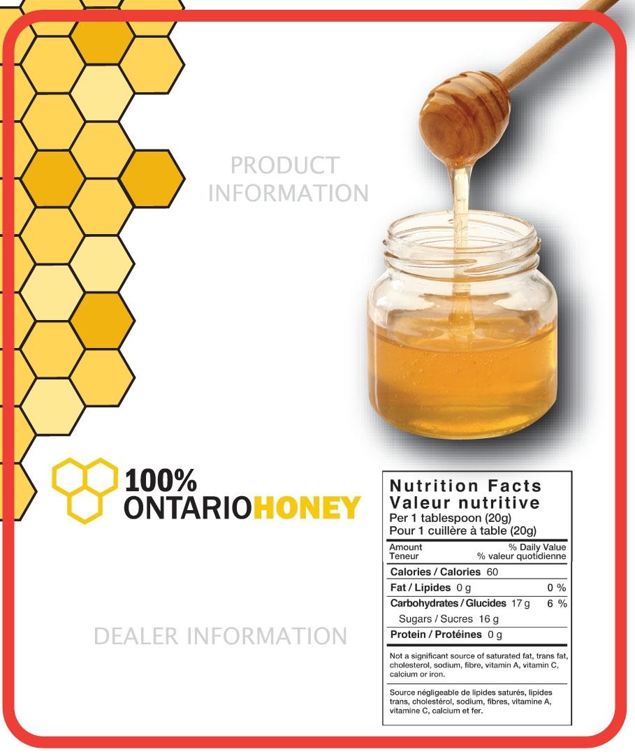 100 Honey Labels Ontario Beekeepers Association