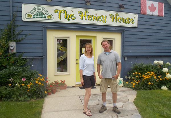 Keri and Al Lockhart - The Honey House - Beaver Valley Gold Honey